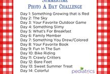 Summer Fun! / Fun things to do with your kids during summer time!