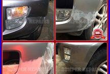 Toyota RAV4 Repair London / We repair Toyota RAV4 paint scratch, bodywork dent and alloy wheel scratch damage in London, Surrey, Hertfordshire, Essex & Kent