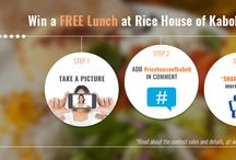 Rice House of Kabob Promotions