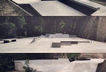 Skate plazas