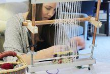 weaving / by Loretta Griffith