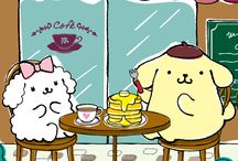 Lovely Pom Pom Purin and his friends / The Japanese Sanrio character Pom Pom Purin