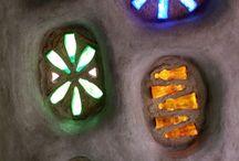 Glassbottle windows