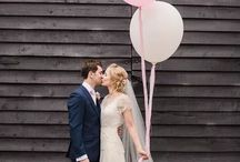 Wedding Balloons / Be creative with balloons at your wedding! Balloons can add an elegant, classic or whimsical touch to your wedding decor and photos.