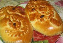 пироги тесто