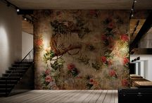 Tropical Deco / A cocktail of exotic motifs and surfaces with an industrial flavour, to relive the mythical atmosphere of the thirties, making even the most contemporary environments extraordinary and intriguing.