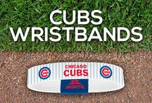 Chicago Cubs MLB Wristbands and Fan Gear / Shop for Chicago Cubs MLB wristbands and fan gear. Find your teams MLB bracelets and gear at Skootz! http://www.skootz.com/