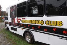 Breakfast with Phil & Groundhog Tour! / Saturday, July 5th 2014  9 a.m., 10 a.m., 11 a.m. Caterina's, 222 N. Findley Street  Join us for breakfast with Phil! Bring your camera for pictures of Punxsutawney Phil and the Inner Circle! You may also purchase tickets for a guided town tour that includes a commentary ride on the Groundhog Bus! The tour space is limited! Visit the link below for details!  http://www.groundhog.org/groundhog-day/groundhog-news/single/article/breakfast-with-phil-and-groundhog-tour/