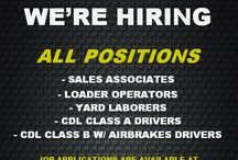 Job Postings / Employment Opportunities at Dale's Landscaping Supply