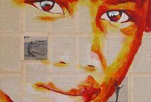 Emelie Cilissen Schildert, indalA-RT / Schilderijen van Afrikaanse mensen en dieren