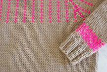 · Knitting Fair Isle ·