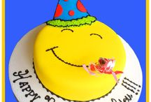 Happy Face Cakes / Happy Face and Imojies