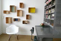 Kids room - chambre d'enfant / Decoration ideas, inspirations, atmospheres... Idées déco, inspirations, ambiances...