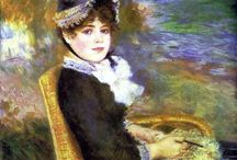 Art / Pierre-Auguste Renoir / by Victoria Buttigieg