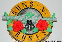 Guns N' Roses / cake