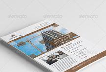 Flyers & Ads / Inspiration: flyer design, leaflet design, advert design