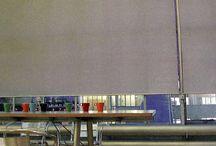 Рулонные шторы / Рулонные шторы в интерьере