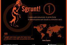 Evoluzione del linguaggio / Come si è evoluto il linguaggio nel corso della storia... in infografica!