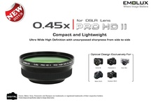 Picture Gallery (PRO5245HDII): Canon M / PRO5245HDII wide angle conversion lens is specially designed to extend the wide angle range of Canon M camera to attain a much wider perspective in a single image.   When fitted on Canon EF-M 18-55mm f3.5-5.6 kit lens, the maximum focal length is extended by a factor of 0.45x to produce a new wide angle of 8.1mm with superior image clarity from edges to edges.