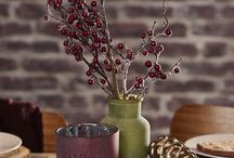 Winter Woodlands / Mit Naturtönen und angenehmen Erdfarben mit Rostmaterialien präsentieren wir Ihnen den Winter-Woodland-Stil.