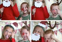 Bump Smitten: Baby Shower Idea: Holiday Photo Booth Asseccories