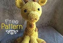 crochet giraffee tutorial