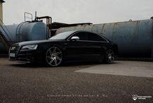 Audi S8 With 22 Inch BD-1's in Matte Gaphie / Check out our full range at www.blaquediamond.com