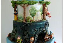 fun cakes / by Linda DeLawder