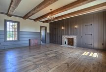 Colonial Interiors / Interior spaces with period appropriate trim.