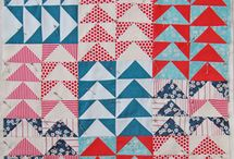 i heart quilting - flying geese