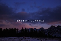 Everest Journal / The Everest Journal is a collection of stories, interviews and features. Get inspired at: journal.everest.com / by Everest