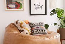 Comfy lounge chairs / lounge chairs, chairs, comfortable,