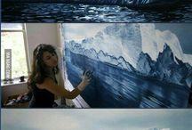 arte con los dedos