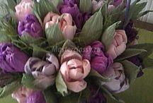 Букеты,цветы(своими руками)