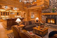 log_homes / by Amy McNeil