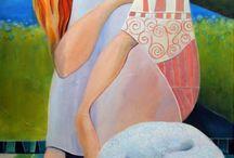 Art, woman