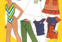 Бумажные куклы из журналов / Бумажные куклы из журналов