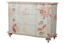 furniture pastel hand painted