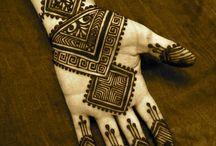 Inspiration for hand tattoo / patterns, motifs