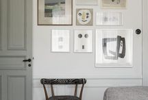 Grey and White / Light, airy, relaxed.