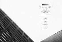 :: Moderne Minimal Webdesign :: / Simple Minimalism - Web Design Style .. ideas that's all