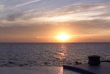 Curacao sunset at the villa