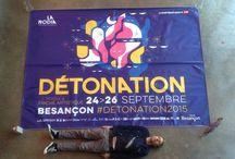 Festival Détonation 2015 / La Rodia présente le festival Détonation du 24 au 26 septembre 2015.  Retrouvez toutes les actus du festival grâce au #detonation2015.  Au programme des concerts, du mapping, des ateliers et bien plus.  infos et résa : http://www.larodia.com/detonation/