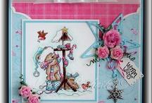 Cards & copic colour combos