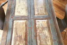 Reclaimed wood ideas / Reclaimed wood is beautiful and is a large part of green building.  Lets find some great examples!