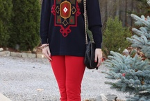 Holiday Sweater Style / A holiday sweater doesn't have to be tacky. See how these fashionistas styled thrifted sweaters from Savers and Value Village / by Savers / Value Village