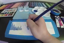 Curso de croquis en YouTube / Vídeos sobre sketching, drawing, arquitectura, croquis y algo más. / by Tania Lira