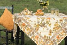 Fall 2015 Kitchen Linens / From late summer through the holidays, find the perfect palette and print to accent your home at AprilCornell.com.