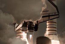 打ち上げ / Rocket launch