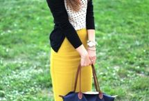 Outfits color amarillo